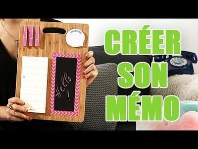 Réaliser un mémo personnalisé - DIY avec youMAKEfashion