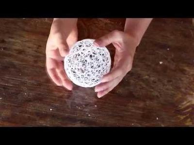 ❣✄ DIY, Boule décorative - déco Pâques, Noël, chambre.