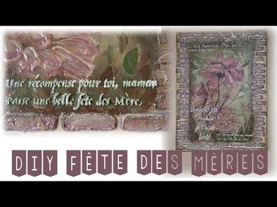 DIY CADEAU FÊTE DES MÈRES