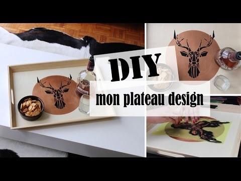 DIY⎥Mon plateau design
