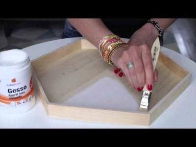 DIY Personnaliser des plateaux en bois