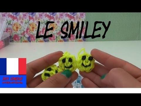 DIY.Smiley pendentif Loom, mâlin, rigolo, souriant et facile à faire. Tutoriel français