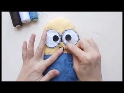 DIY 1: Une peluche Minion