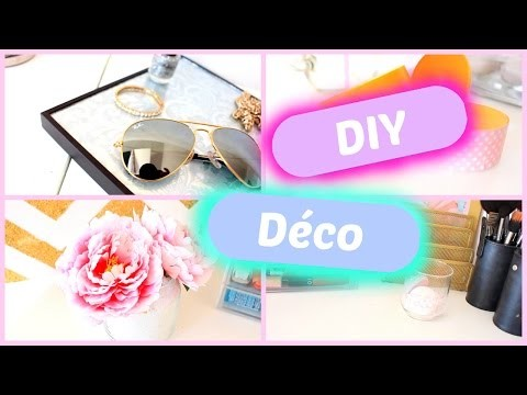 DIY DECOR l Cheap & Easy  -  Facile & Pas Cher