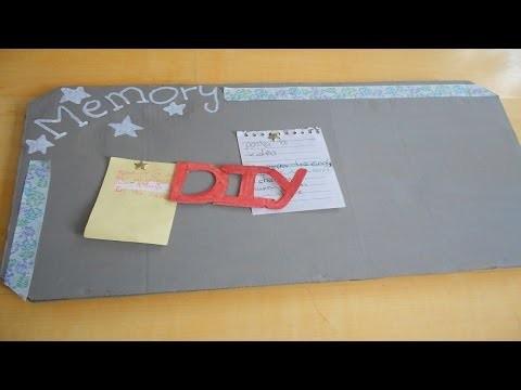 DIY: pense-bête original a faire sois même