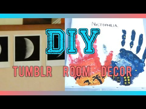 [DIY] Tumblr room decor en francais (Faux polaroid etc)