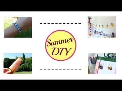 ☀️ Summer DIY ☀️⎜6 astuces pour s'occuper cet été !⎜