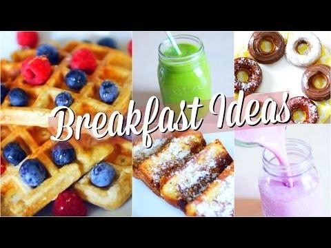 DIY BACK TO SCHOOL   Idées petit déjeuner & snacks RAPIDE !