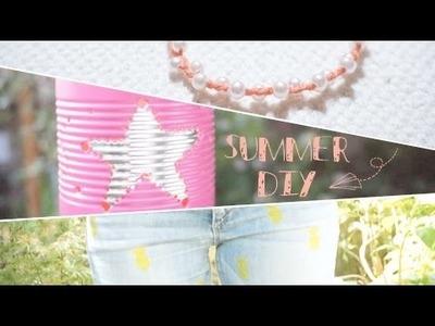 #DIY - Du bricolage facile à réaliser pour l'été ☀