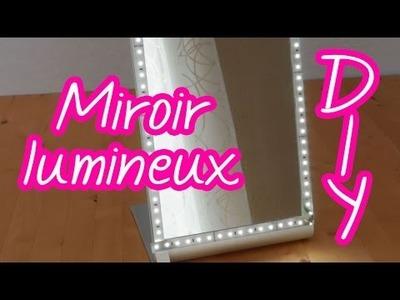 [DIY] Miroir lumineux pour se maquiller, s'épiler à la lumière du jour