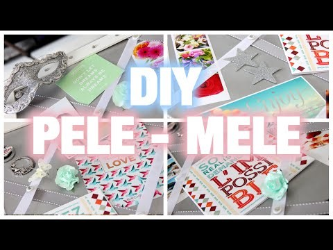 # DIY : PELE - MELE SIMPLE ET RAPIDE !! #