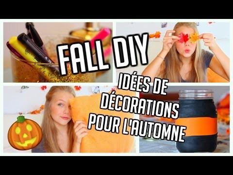 Fall diy \\ Décorations d'automne à petits prix !