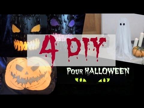 4 DIY pour Halloween - Halloweek