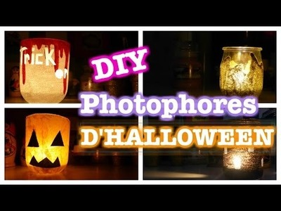 ✦ DIY Photophores d'Halloween. with COOCKIES FANTASY ✦