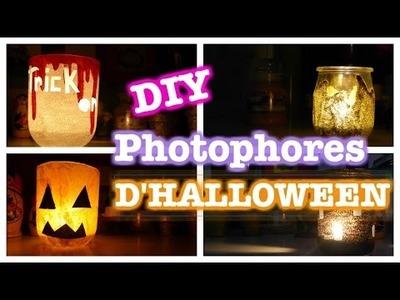 ✦ DIY Photophores d'Halloween. with COOCKIES FANTASY ✦