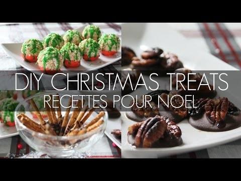 DIY Christmas Treats | Recettes sucrées pour Noel !