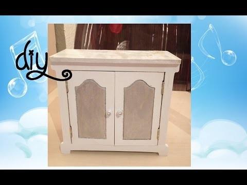 [DIY] Customisation du petit meuble Minicrea.fr