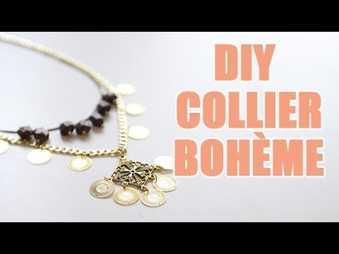 Collier Bohème DIY avec youMAKEfashion