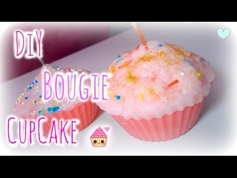 ✁ DIY  - Bougie CupCake ♡