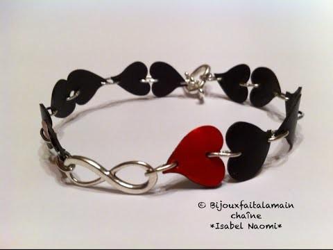 DIY Nespresso: Comment-faire un bracelet amour infini.