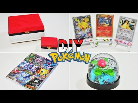 DIY Pokémon | 4 DIY Pokémon à faire ABSOLUMENT !
