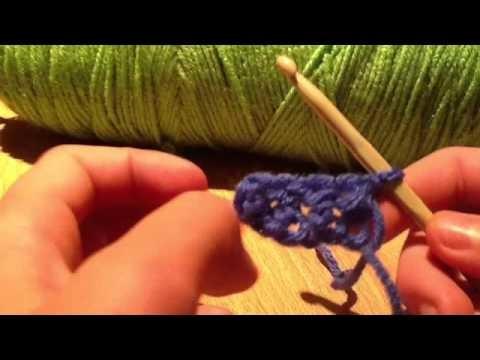 Crochet 2 point et changer la couleur