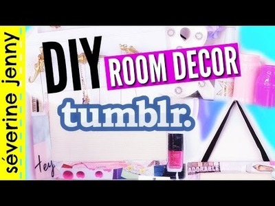 DIY (français) Tumblr Inspired Room Decor. Deco Chambre