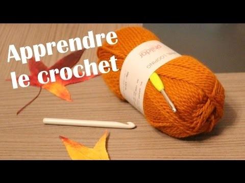 Apprendre le crochet. Maille chainette