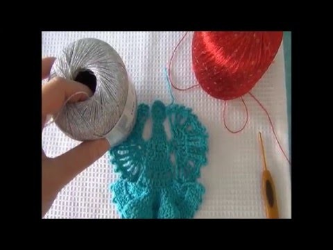 ► CROCHET. ANGE DE NOEL en VIDEO HD ♥