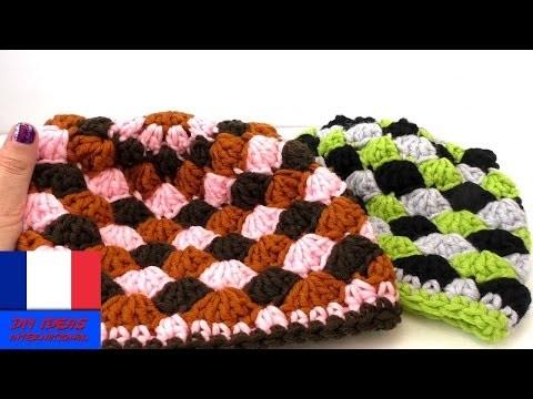 Petit bonnet faits au crochet | Faire un bonnet original soi-même | 3 couleurs