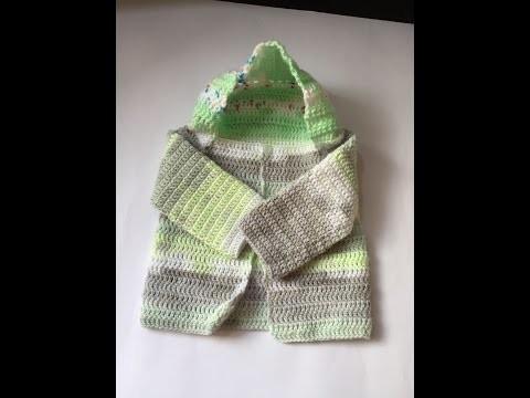 Tuto comment ajouter une capuche aux gilets, veste, poncho au crochet