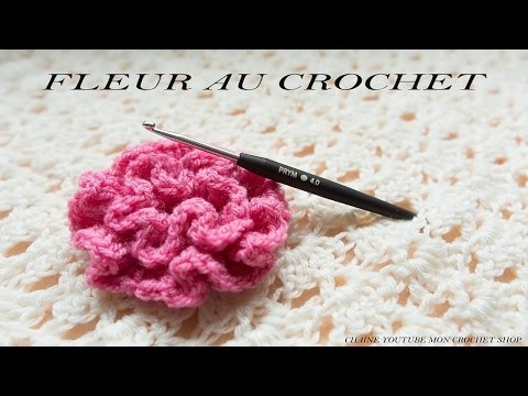 Comment faire une fleur au crochet ( facile pour débutant)