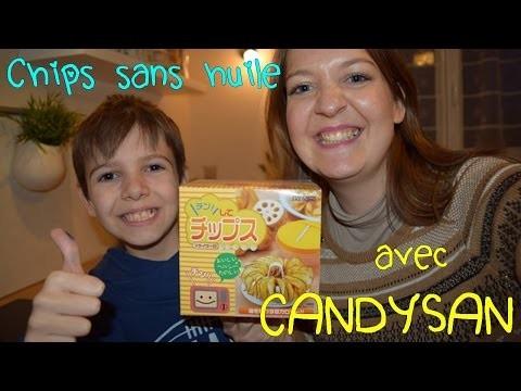 #DIY CHIPS AU MICRO-ONDE !! [Sans huile avec Candysan!] - Chips Maker