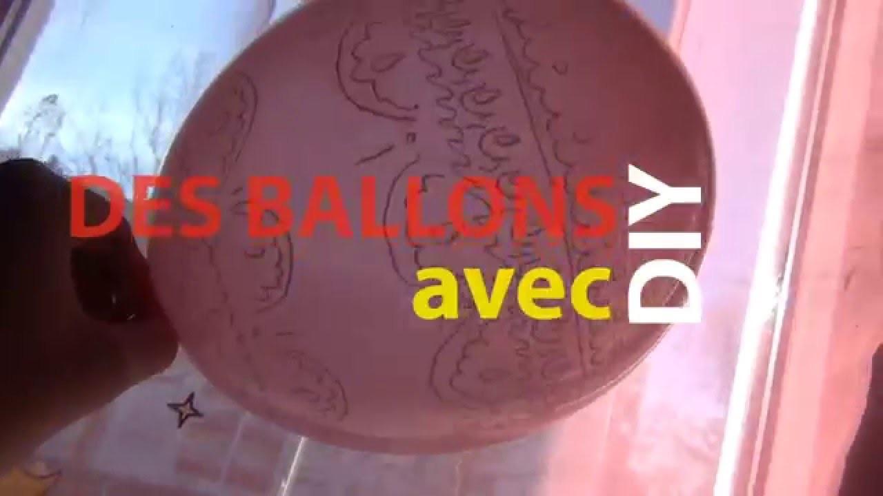 DIY avec des ballons de bodruche
