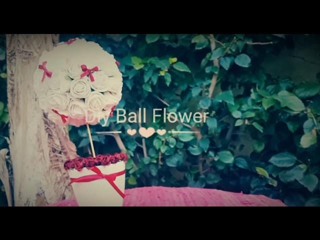 Diy. Ball Flower