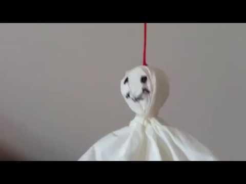 DIY fantôme facile , rapide et tête de mort en fimo Halloween