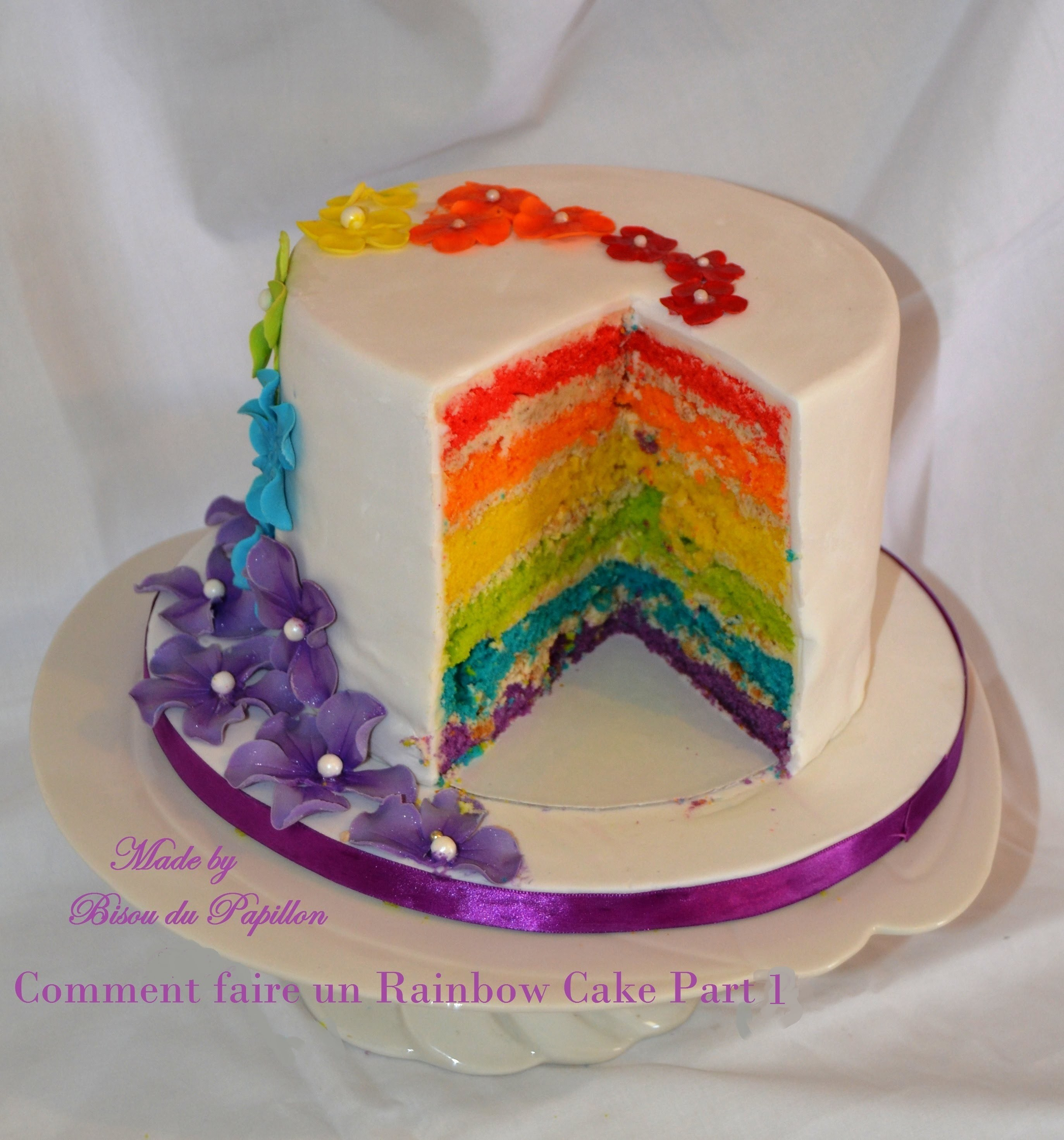 Comment faire un Rainbow Cake Part 1
