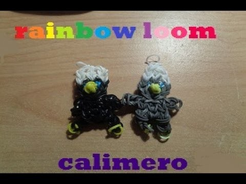 Tuto rainbow loom : comment faire calimero