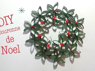 DIY Couronne de Noel avec rouleau en carton