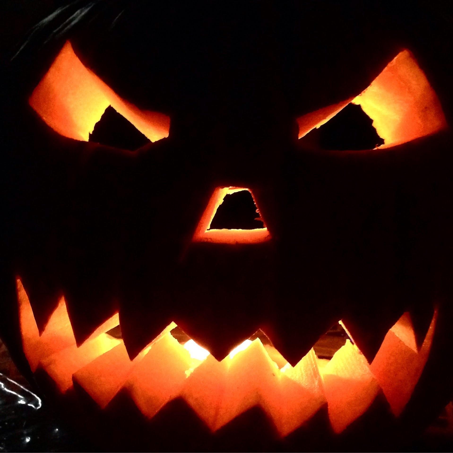 Une citrouille pour Halloween