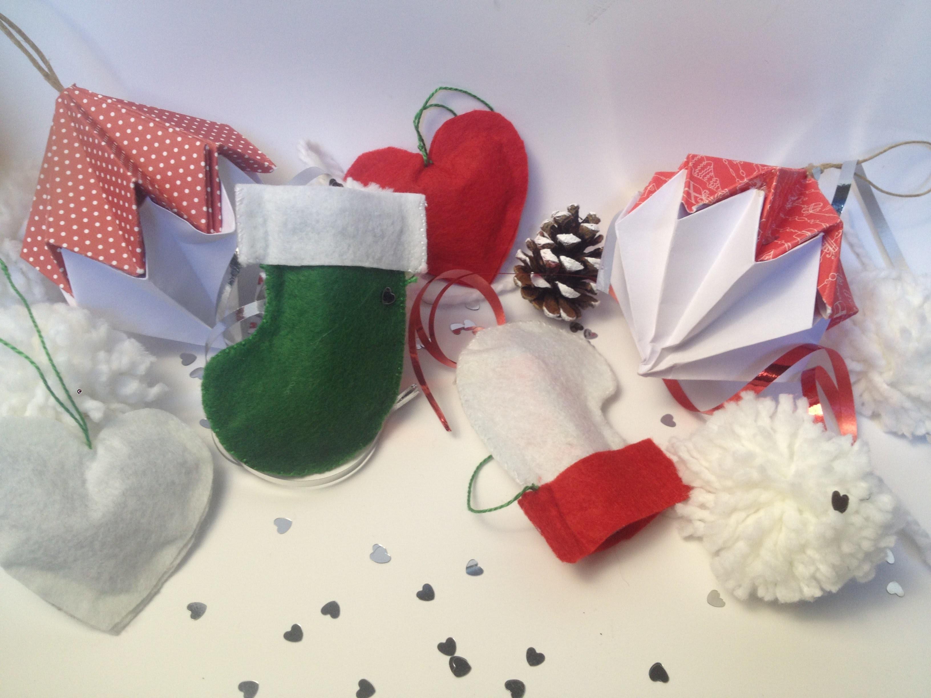 3 DIY DECO DE NOEL de dernière minute. Last-minute DIY Christmas