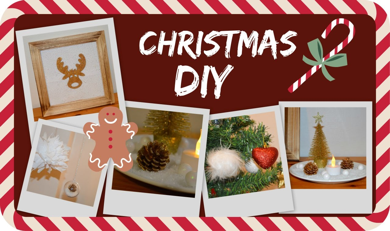 DIY #4 | Christmas DIY Deco. DIY de décoration de Noël