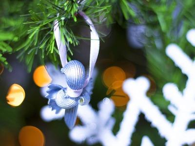 DIY Noël : Ange en pâtes pour décorer votre sapin