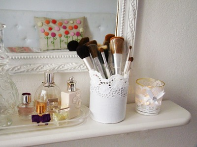 DIY Pot rangement pinceaux