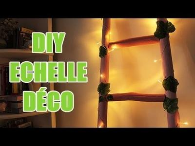 Customiser une échelle pour votre déco intérieure : DIY avec youMAKEfashion