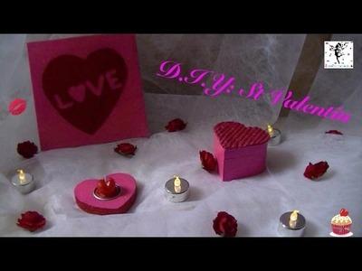 D.I.Y spéciale: ♥ St Valentin ♥
