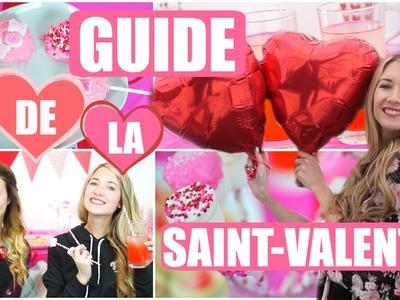GUIDE DE LA SAINT-VALENTIN | DIY, SNACKS, TENUE & PLUS !