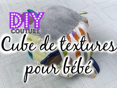 [ Tutoriel N°7 ] : DIY - Coudre un cube de textures pour bébé
