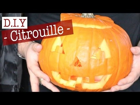 Citrouille Halloween : DIY