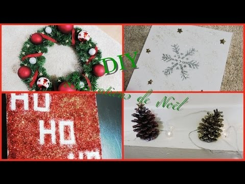 ❄️ [ DIY ]: Décorations Noël